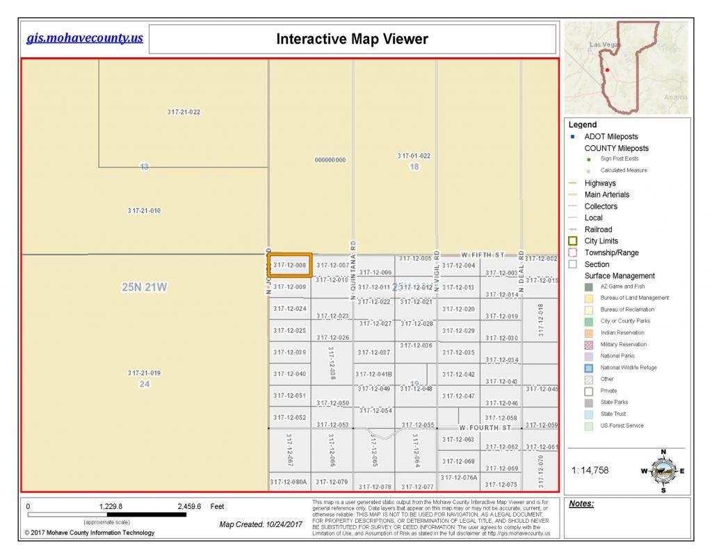 Assessors Map Lot 8