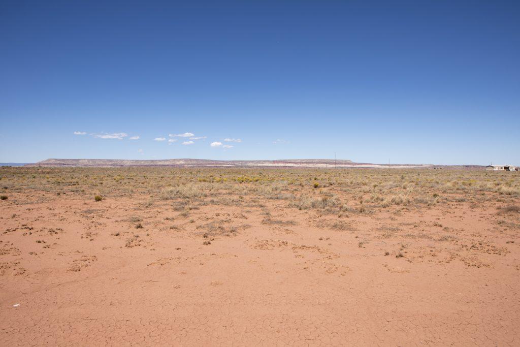 desert terrain view